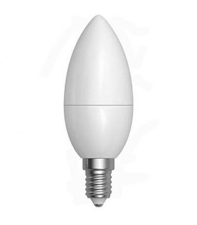 Lampadina oliva opalina LED - 7W E14 4200K Serie Smooth Led SkyLighting