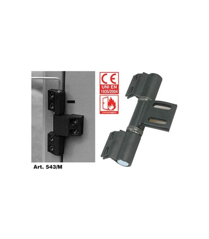 Cerniere per porte pesanti e tagliafuoco tipo rotondo con molla di chiusura IBFM 543/M - Mancini ...