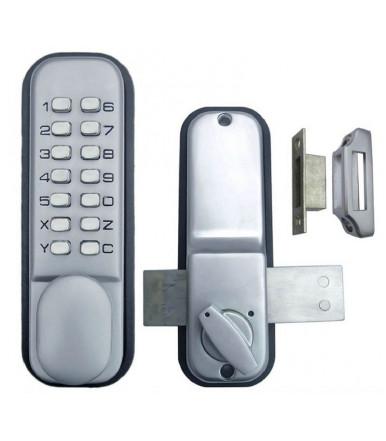 Serratura digitale impermeabile per porte con combinazione