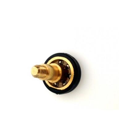 Cuscinetto ottone rivestito nylon TRO 22 con vite Tric