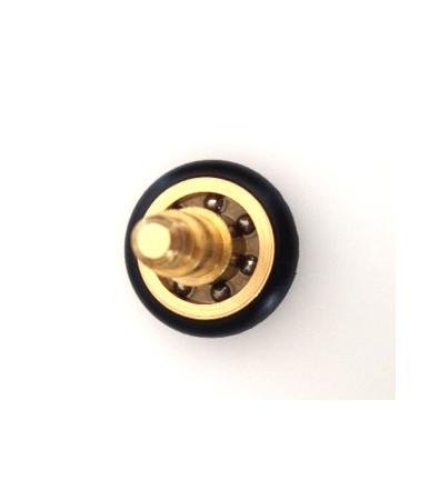 Cuscinetto ottone rivestito nylon TRO 24 con vite Tric