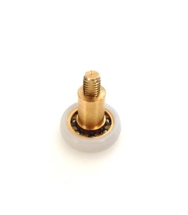 Cuscinetto ottone rivestito nylon TRO 19 con vite Tric