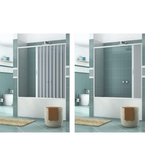 Box vasca estensibile in pvc anta unica con apertura - Vasca da bagno con apertura laterale ...