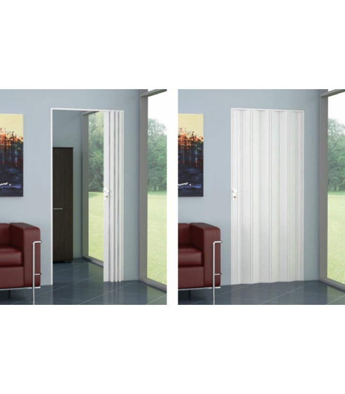 Kit folding door single shutter PVC- reversible - Line Extra ...