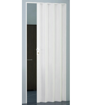 Kit folding door single shutter PVC- reversible - Line Extra