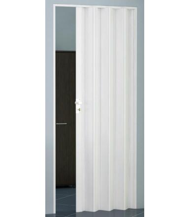 Porta a soffietto in kit anta unica reversibile in PVC Linea Extra