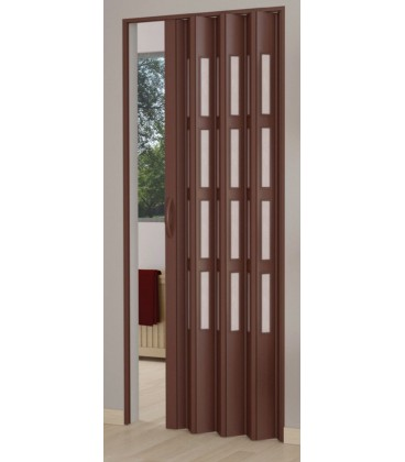 Kit folding door single shutter PVC with glass - reversible - Line ...