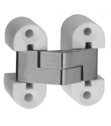 Ceam invisible oval recessed hinges for furniture hole 33,4x13,8 mm Art.2022