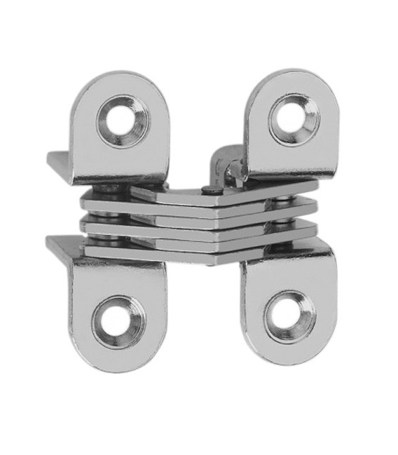 Ceam invisible oval recessed hinges for furniture hole 39,3x13 mm Art.504