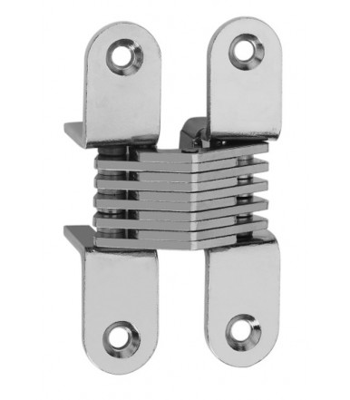 Ceam invisible oval recessed hinges for furniture hole 79,8x18 mm Art.501