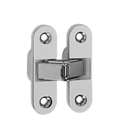 Ceam fixed invisible oval recessed hinges for doors hole 89x25 mm Art.2015