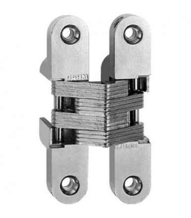 Ceam fixed invisible oval recessed hinges for doors hole 95,6x19,6 mm Art.830