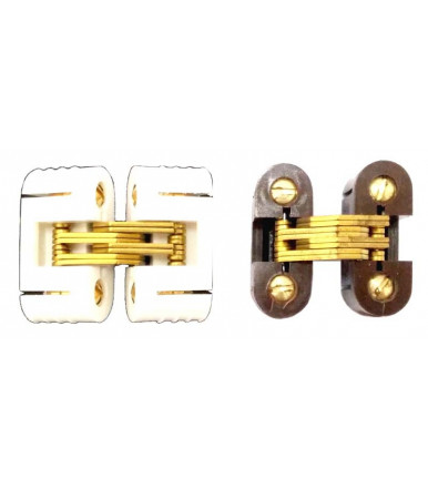 Tecnoaccessori invisible oval recessed hinges for furniture Art.CO12