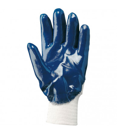NBR glove impregnated cotton jersey fabric