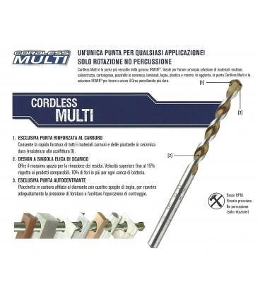 Irwin CORDLESS MULTI Series Joran cylindrical drill bits masonry drilling