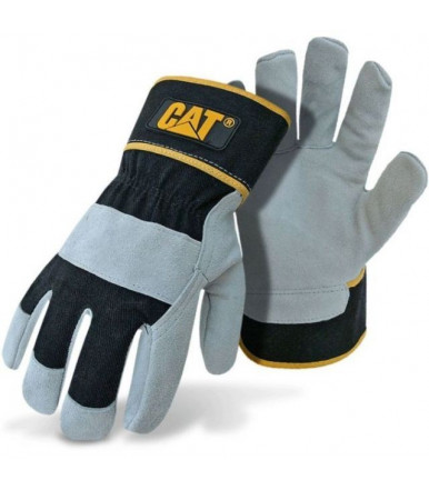 Caterpillar Gloves Premium Grey & Black