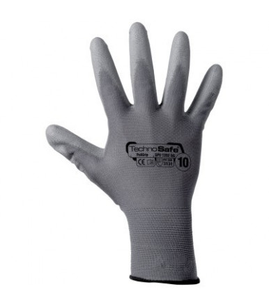 PU coated synthetic glove