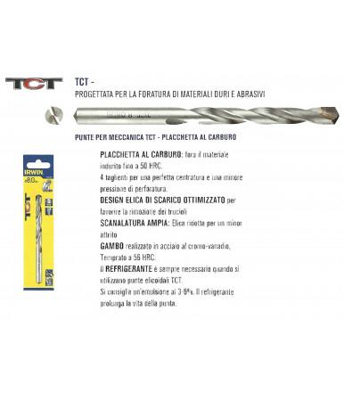 Irwin TCT cylindrical drill bits metal drilling