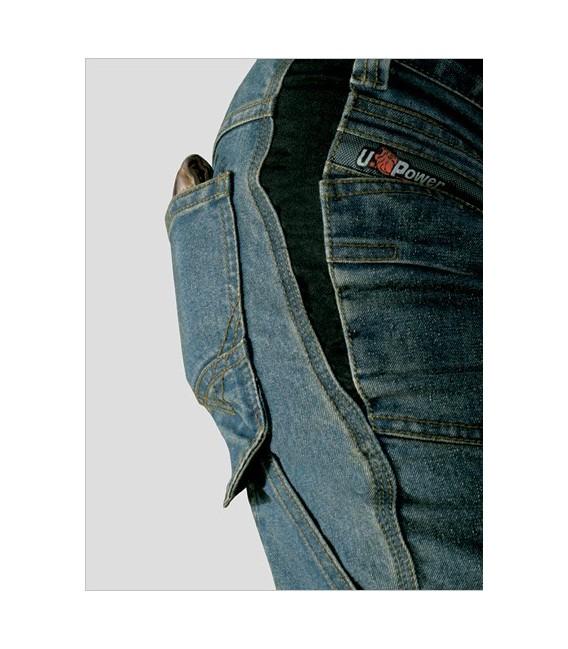 Denim stretch jeans U-Power Trafic