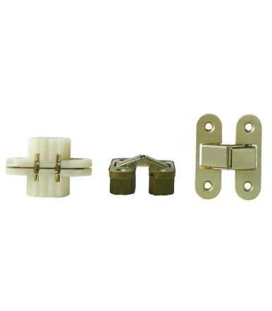 Tecnoaccessori invisible oval recessed hinges for furniture Art.C78