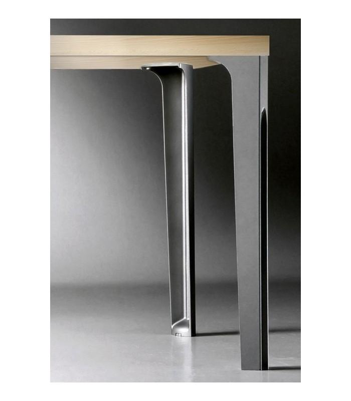 Gamba per tavolo 7070 convivio caspim mancini mancini shop - Gambe in ferro per tavoli ...