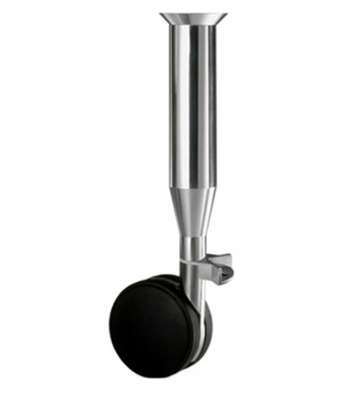 Caspim 7020 V QUATER leg for small tables with glass top