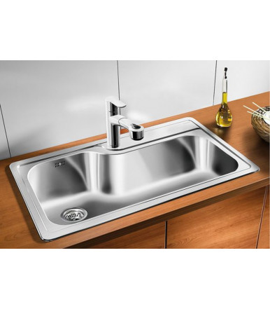 BLANCO PLENTA rectangular Kitchen sink stainless steel