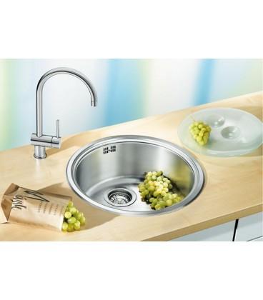Blanco Rondosol Round Kitchen Sink Stainless Steel
