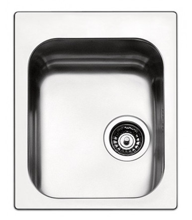 Apell series Torino TO42IBC rectangular Kitchen sink steel