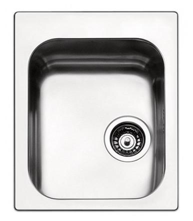Apell series Torino TO42IBC rectangular Kitchen sink steel
