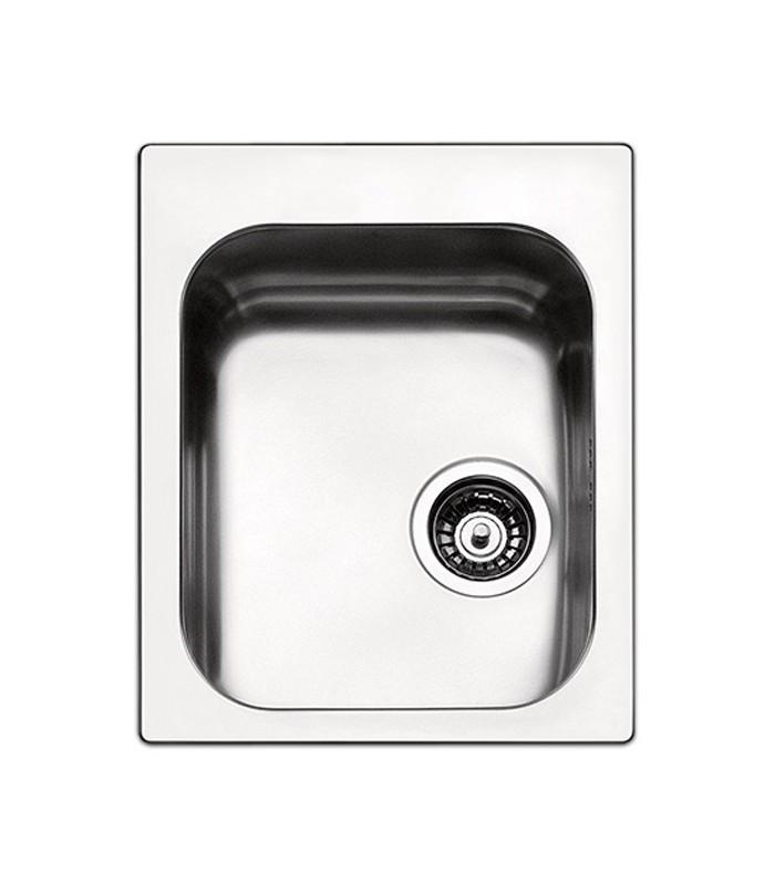 Lavello rettangolare da cucina in acciaio to42ibc serie for Accessori cucina acciaio