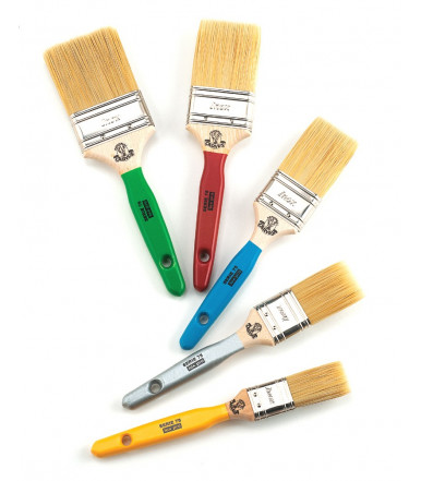 Cervus S/75 LUX PRO Professional flat brush in mixture of synthetic fibers
