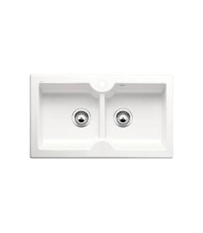 Lavello rettangolare per cucina ceramica BLANCO IDESSA 9 - Mancini ...
