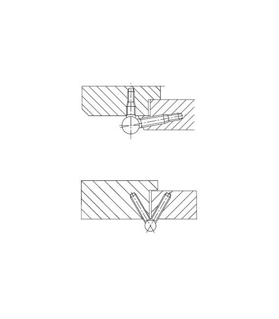 Cerniera regolabile 11R da 14 SFS intec
