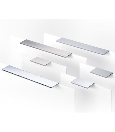 Estamp rectangular handle for drawers Synthesis 766 Arttech Collection