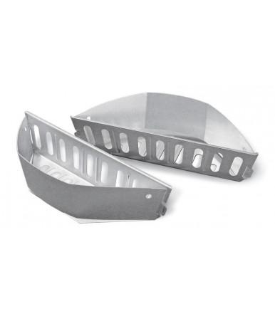 Cesti separa carbone Weber per barbecue a carbone Ø 57 e 67 cm - 2 pezzi