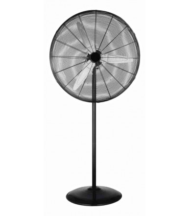 CFG Large Upright Fan in metal color black The Fury
