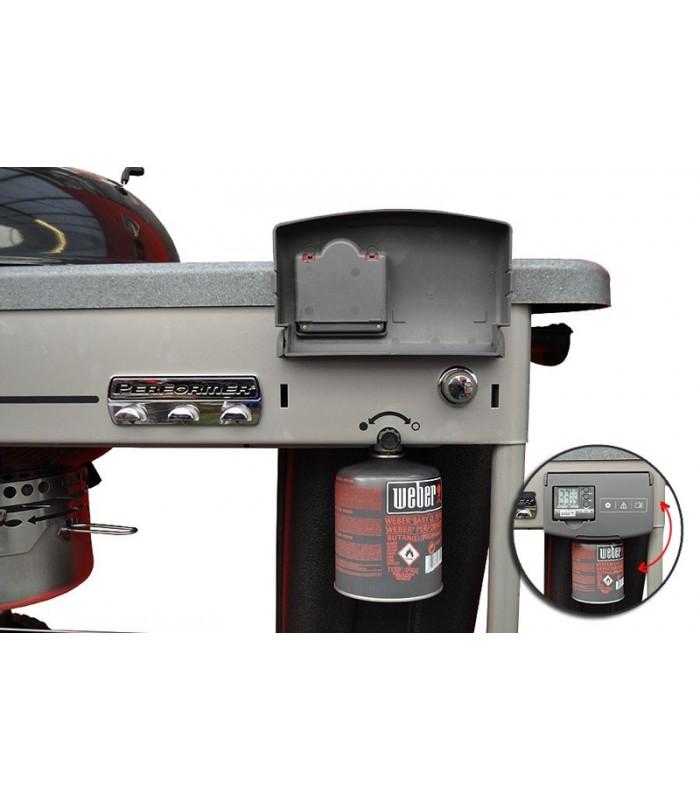 Weber Performer Premium.Barbacoa De Carbon Weber Performer Deluxe Gourmet O 57 Black Gbs