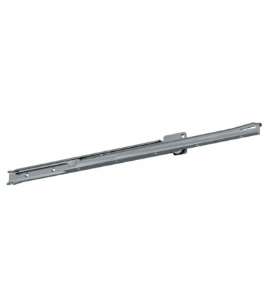FR 2051 CS Fulterer telescopic regular-extension drawer slide in stainless steel mounting bottom mount
