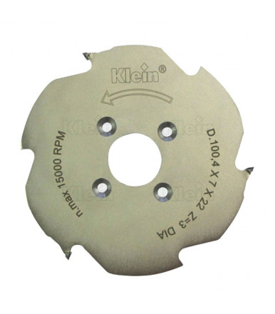 """Klein DP Groove cutter for """"Lamello - CLAMEX P"""" joints XAH100.10330"""