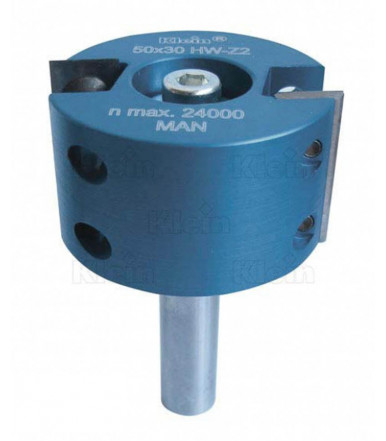 Klein HW insert rabbeting bits Z equal 2 - WE150.500.R