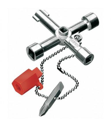 ABC Tools llave universal para armarios eléctricos y paneles