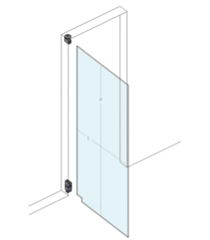 Automatic Hinge With Return Spring For Glass Doors Only Mono100