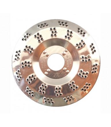 Disco per sgrossatura e levigatura per legno pvc e for Dischi di legno