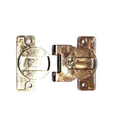 Cerniera da incasso doppia Ø 35 mm con asse spostabile regolabile per porte e ante pieghevoli