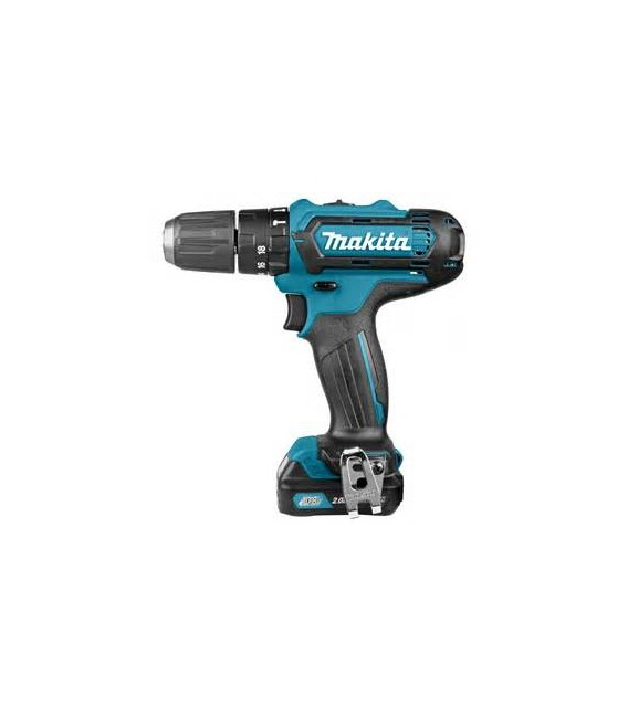 Makita drill driver with percussion + 84 accessories HP330DX100