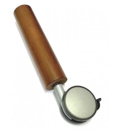Pie Nuez 250 mm con rueda OgTM de Ø 80 con freno