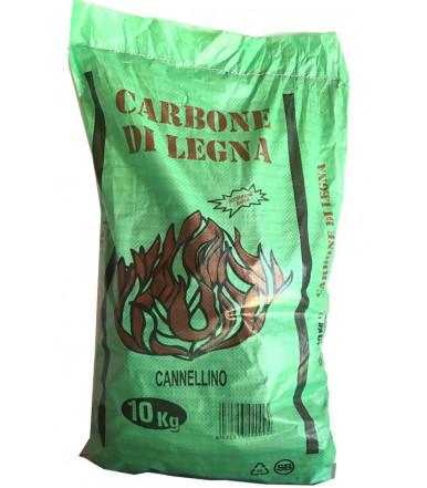 Carbone legna cannellino 10 kg