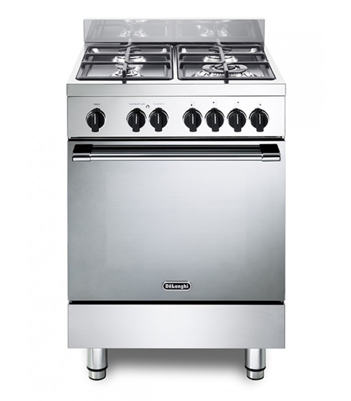 Cucina gemma da 60 cm con forno elettrico multifunzione de 39 longhi gemma 66 m linea gemma - Cucina elettrica de longhi ...