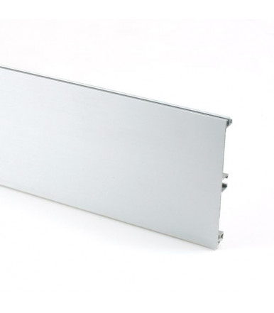 Volpato 20/10.400AL smooth aluminium plinth